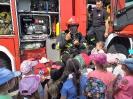 Przedszkolaki u strażaków